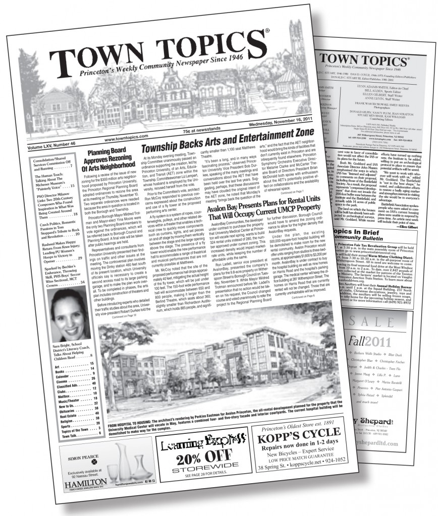 Town Topics Newspaper